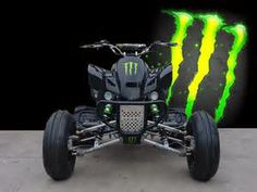 #Quad monster energy logo
