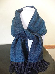 Love the color in this scarf -- Hand Woven Wool Scarf by FiberandBeadBoutique on Etsy, $35.00