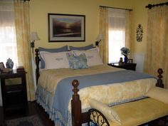 yellow bedrooms blue bedrooms and bedroom decorating ideas