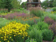 A Know Maintenance Garden at the Grand Geneva Resort in Lake Geneva, WI designed by Roy Diblik, co-owner of Northwind Perennial Farm in Burlington, WI.