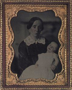 Woman with her dead child.