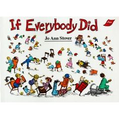 One of my favorite books for  illustrating how a small, insensitive action by one child becomes overwhelming chaos if everybody did.  It's great for illustrating the why for rules.  I used this as a pattern book while teaching 1st Grade.