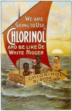 This ad is from the late 1800's - beyond cringeworthy straight into offensive.
