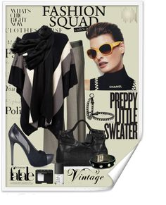 """""""Contest Magazine Cover"""" by johnna-cameron ❤ liked on Polyvore"""