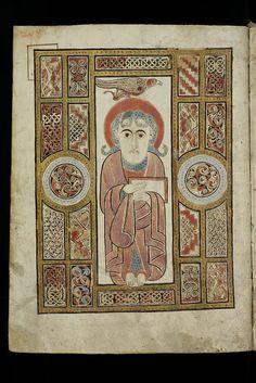 St. Gallen, Stiftsbibliothek, Cod. Sang. 51, p. 208 – Irish Evangelary from St. Gall (Quatuor evangelia)