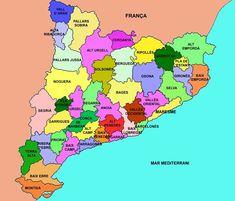 Les comarques de Catalunya