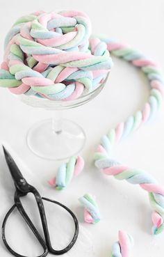 Homemade Marshmallow Rope