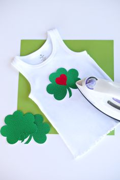 shamrock iron on
