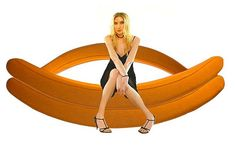 Banana Rocking Sofa!
