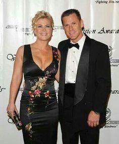 ALISON SWEENEY AND HER HUSBAND