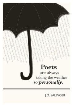 saling, umbrellas, author quotes, art, weather, poetri, quote posters, poetry, rain