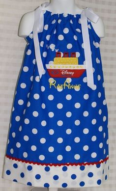 Disney Cruise Ship Pillowcase Dress by GiftSewFine on Etsy