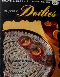 Silver Surf doily free vintage crochet doilies patterns