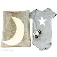 Star And Moon Baby Boy Gift Set