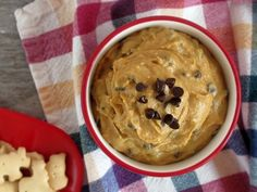 chocolate chip cookie dough dip? yes, please.