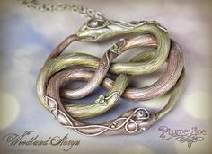 Plumevine on Etsy $154 for this polymer clay pendant