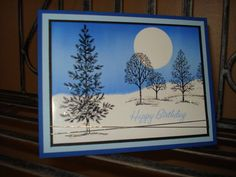 winter birthday by megala3178 - Cards and Paper Crafts at Splitcoaststampers