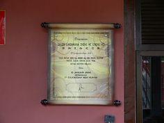 Zheng He Gallery in Malacca.