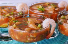 Coctel de Camarones | Shrimp Cocktail {Recipe} | SpanglishBaby™