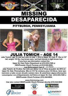 FOUND SAFE! 7/8/2014 (via B.U.R.N. for Missing Children Facebook page). TY Jackie.