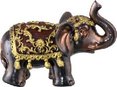 In Feng Shui, the elephant is a symbol of strength, greatness and dignity. Place it facing the main entrance door to symbolize arrival of good fortune  ONLY use an elephant with its trunk UP.