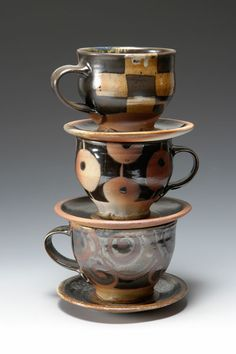 sarah dudgeon. cup and saucer tower