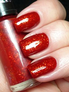 Speciallità Hits- Flamenco (shown here is two coats over red)