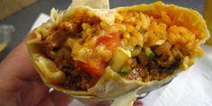 Enjoy a Mission Burrito!