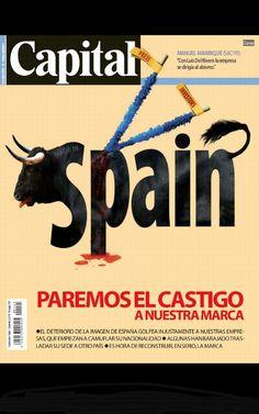 Expresiva portada de la revista Capital de octubre