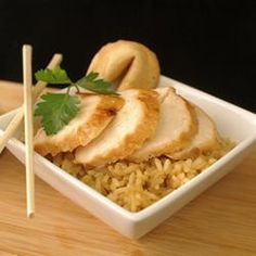 Use 3T oil instead of 1/4 cup. Teriyaki Marinated Chicken Allrecipes.com