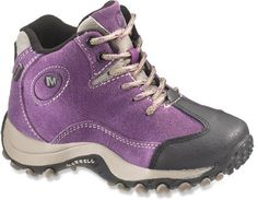 Hiking boots for the Kids! Merrell Chameleon Spin Waterproof Boots - Girls