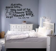 The Big Bang Theory Soft Kitty Giant Wall Sticker