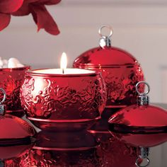 """TIS THE SEASON HOLDER Item #:  P90415 Resembling an heirloom, our shimmering metal-plated ceramic ornament makes room for a tealight, snacks or any small trinket. Food safe. 5"""" h, 4 1/2"""" dia. Regular Price: $22.95 each  SALE! $7.00 each"""