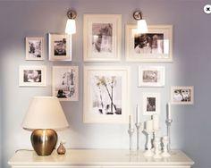 bedroom color schemes, bedroom walls, bedroom colors, galleri wall, bedroom galleri