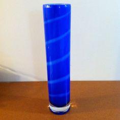 Kosta Boda Samoa Blue Vase