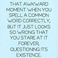 #awkward moment