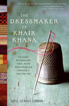 "**For fans of ""Three Cups of Tea,"" ""The Dressmaker of Khair Khana,"" written by a former reporter for ABC News, tells the story of a fearless young entrepreneur who brought hope to the lives of dozens of women in war-torn Afghanistan. = sounds like it must go on my book list"