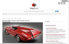 Plymouth XNR: Kalapács alatt a Chrysler 50 éves konceptautója - Design Pumpa