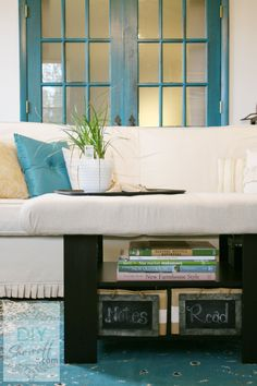 How to Make a DIY Upholstered Tufted Ottoman