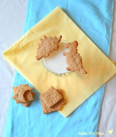 Whole Wheat Graham Crackers from Bless This Mess.  I'll be one of those mothers who makes homemade animal crackers for her kids one day, too ;)