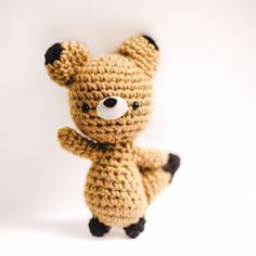 Brown Fox Amigurumi Pattern, freebie: thanks so xox