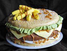 sweet cheeseburg, cheeseburg cake