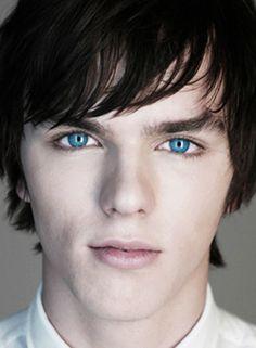 Nicholas Hoult... Lovely blue eyes  loved him in warm bodies