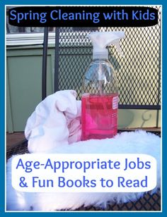 Spring Cleaning with Kids:  Age-Appropriate Jobs & fun books to read!