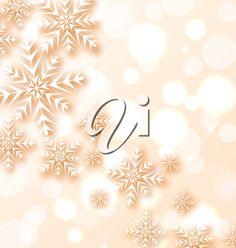 iCLIPART - Clip Art Illustration of Winter Snowflakes