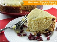 This slow-cooker bread recipe for Slow Cooker Cranberry Orange Bread is a sweet treat that's delicious for breakfast, snack, or dessert. Flavored with grated orange peel, dried cranberries, almonds, and chocolate, it has the perfect blend of tart and sweet.