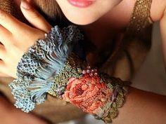 beautiful embroidered cuff