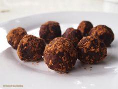 Super Simple 3 Ingredient Vegan Durian Fudge Balls Recipe by YearOfTheDurian - #durianmadness
