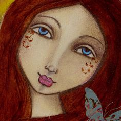 """Believe Journal Face    This is from Suzi Blu's online class """"The Goddess and the Poet."""""""