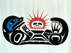 Coast Salish/Haida otter. Goes with the theme of my Salish owl tattoo, and the otter is one of my spirit animals.